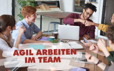 Agiles Arbeiten in kreativen Teams – 6 Geheimnisse für einen sprudelnden Teamalltag